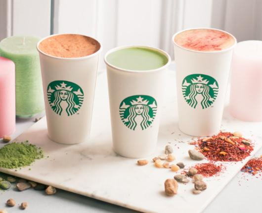 Starbucks shows you the new way to savor the spring with its new Teavana Tea Lattes