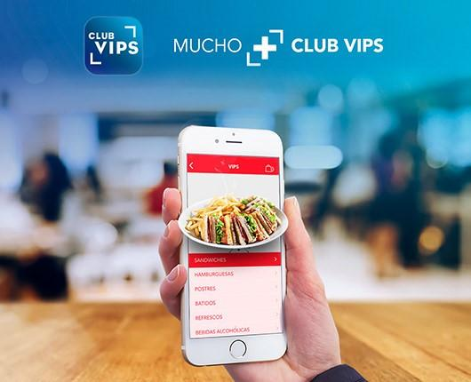 Grupo Vips is recognized as the most innovative hotel/restaurant company for its Club VIPS App