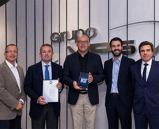 NSF International certifies the Grupo Vips food safety risk system