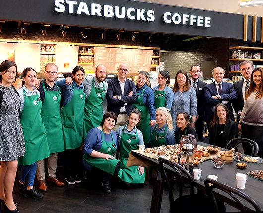 Starbucks opens its first store in Santander