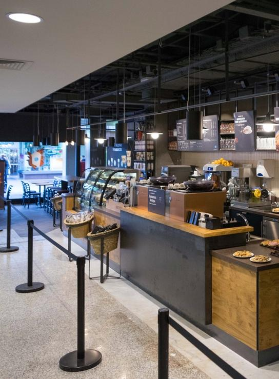 Inauguration of STARBUCKS in Spain
