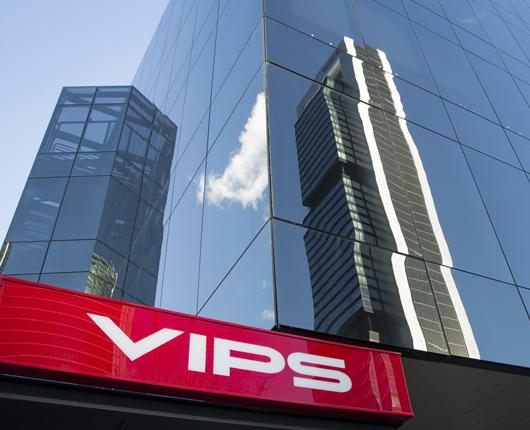 Grupo Vips back in the black and accelerates growth in sales and units