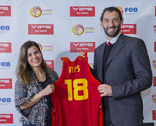 VIPS renews its commitment to the Spanish national basketball team