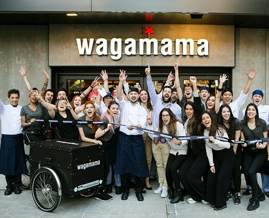 wagamama rings in the spring with all new dishes and its fifth opening in Madrid