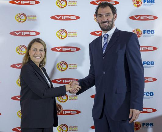 VIPS is now an official supplier of the Spanish National Basketball Team