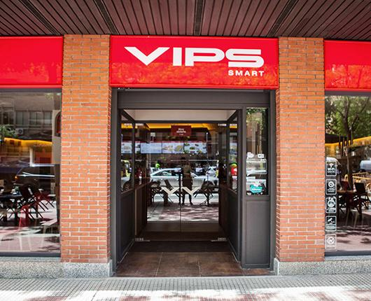 VIPS Smart opens its first restaurant downtown Madrid