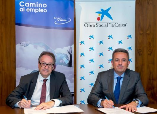 """Grupo Vips joins the """"La Caixa"""" program Incorpora aimed at hiring people at risk of social exclusion"""