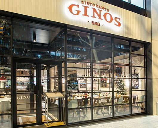 Ginos reopens in Glòries with the brand's updated image