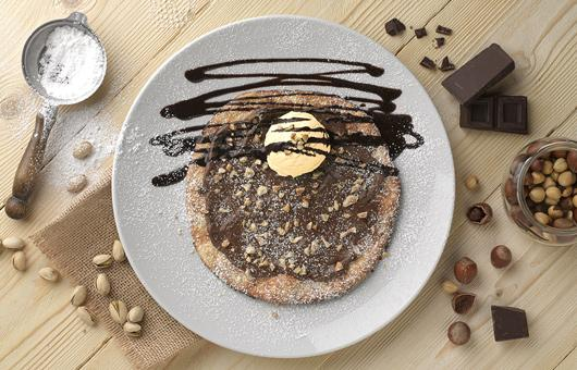 Ginos is surprising customers with its all-new dessert, Pizzeta with Nutella® & Gelato