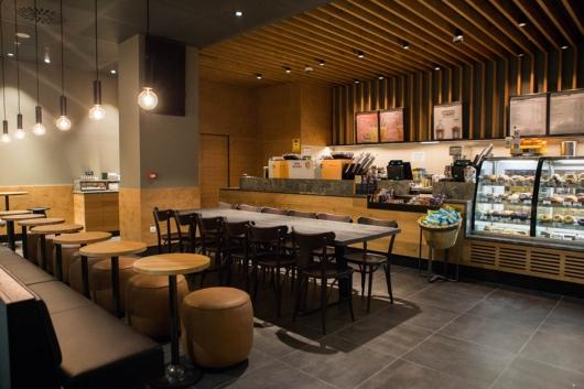 Starbucks inaugurates the first Starbucks store on Ibiza at the airport on the island