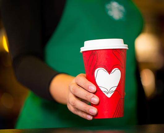 Give Good with Starbucks this Christmas