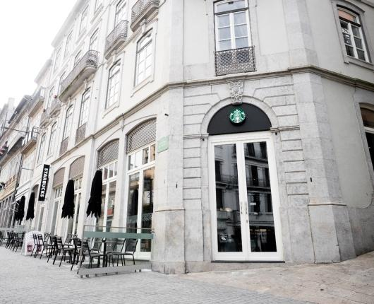 Starbucks opens a Flagship Store in Oporto