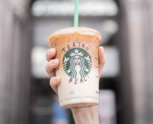 Starbucks raises the curtain on its new store at the Royal Theater
