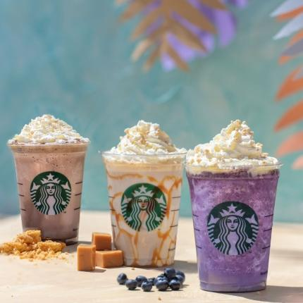 Starbucks presents its all-new Cheesecake Frappuccino®