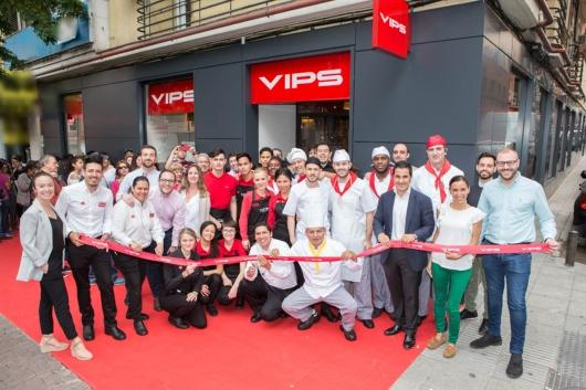 VIPS arrives in the Vallecas district